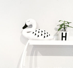 Swan Cushion, Toy, Nordic Home Accessories, Elm & Blue, Style Life Home