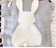 Bunny Blanket, Throw, Nordic Home Accessories, Elm & Blue, Style Life Home