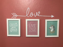 Love Wall Sticker, Wall Sticker, Nordic Home Accessories, Elm & Blue, Style Life Home