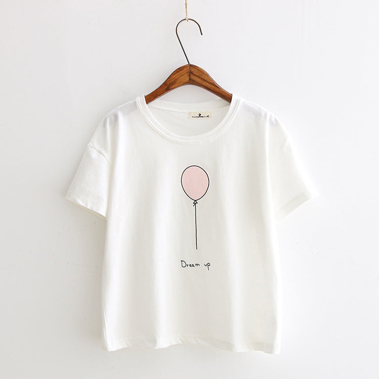 Dream Up T Shirt, Clothing, Nordic Home Accessories, Elm & Blue, Style Life Home