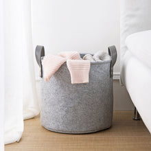 Grey Storage Basket, Storage, Nordic Home Accessories, Elm & Blue, Style Life Home