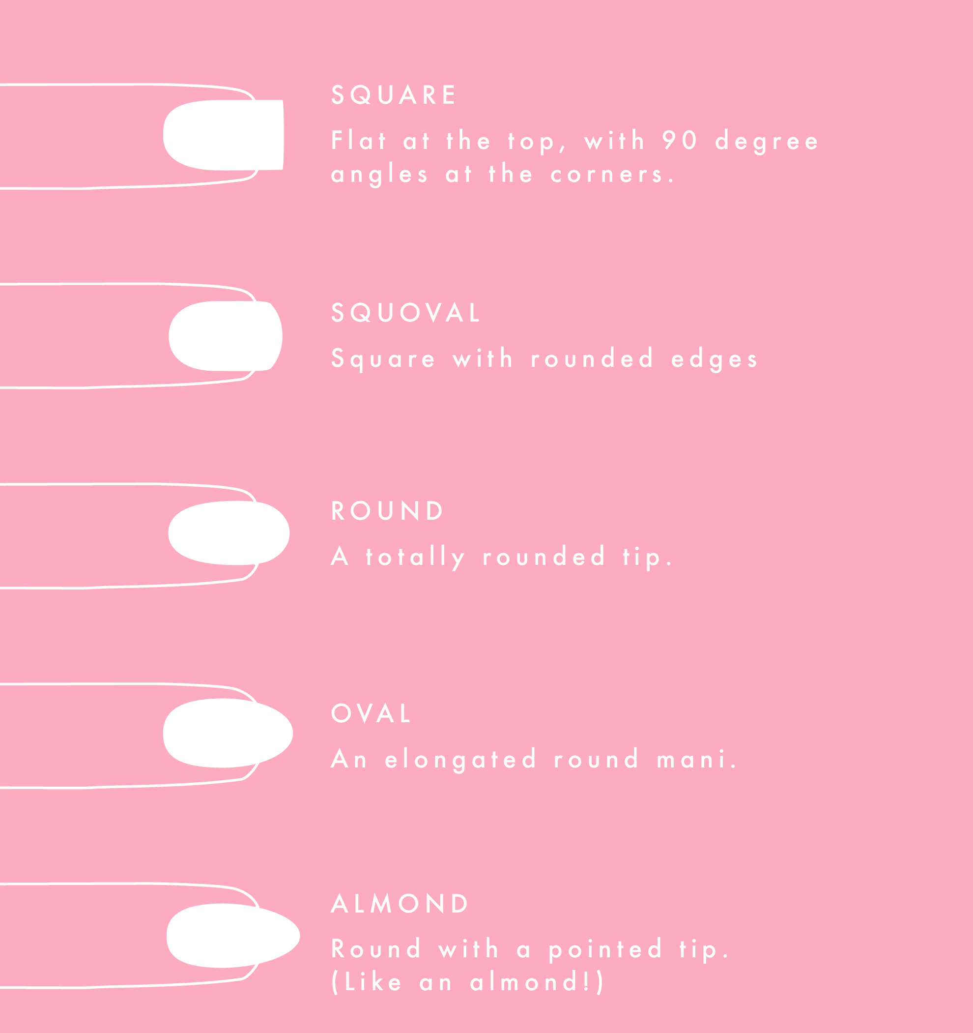 Guide to Nail Shapes