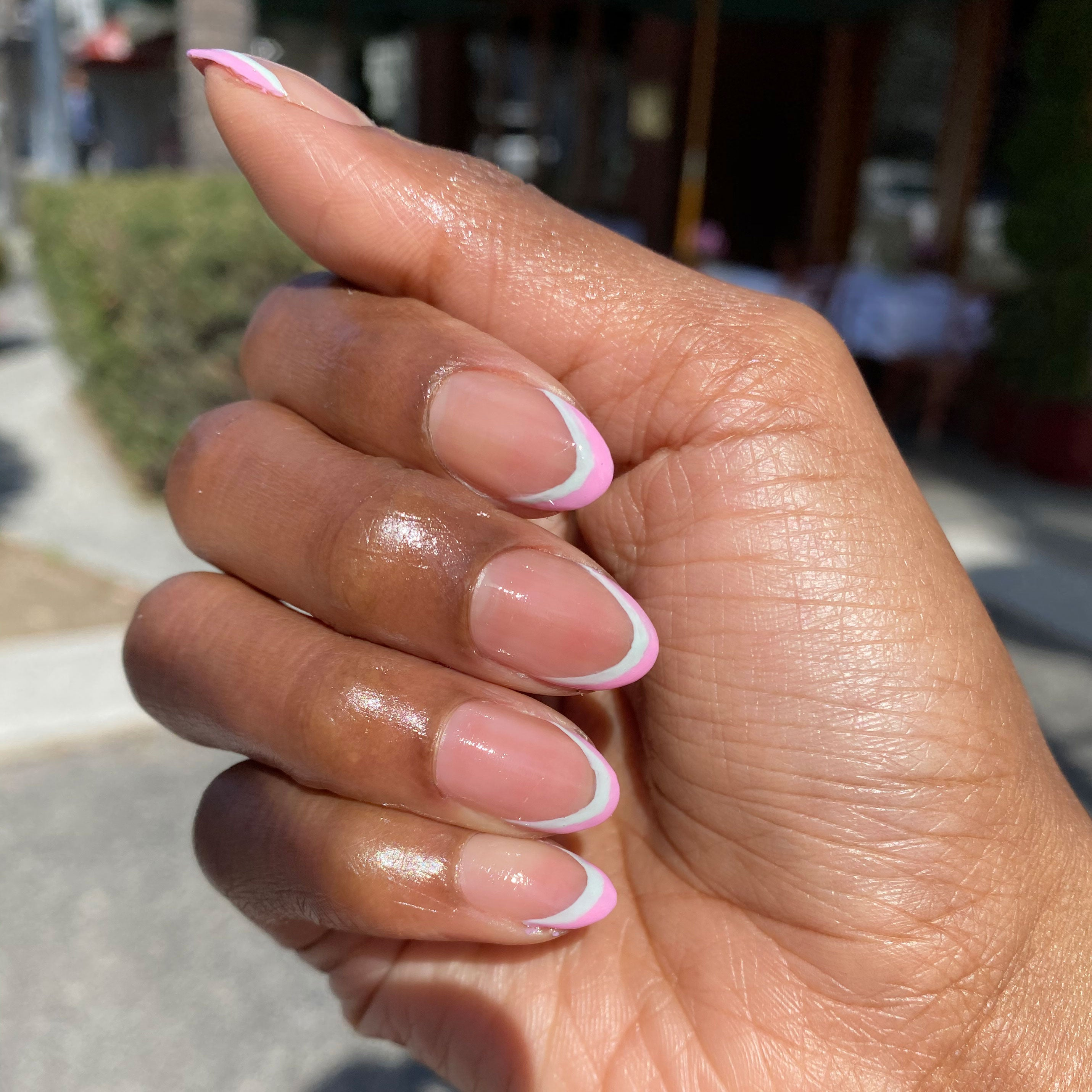 Double French Mani