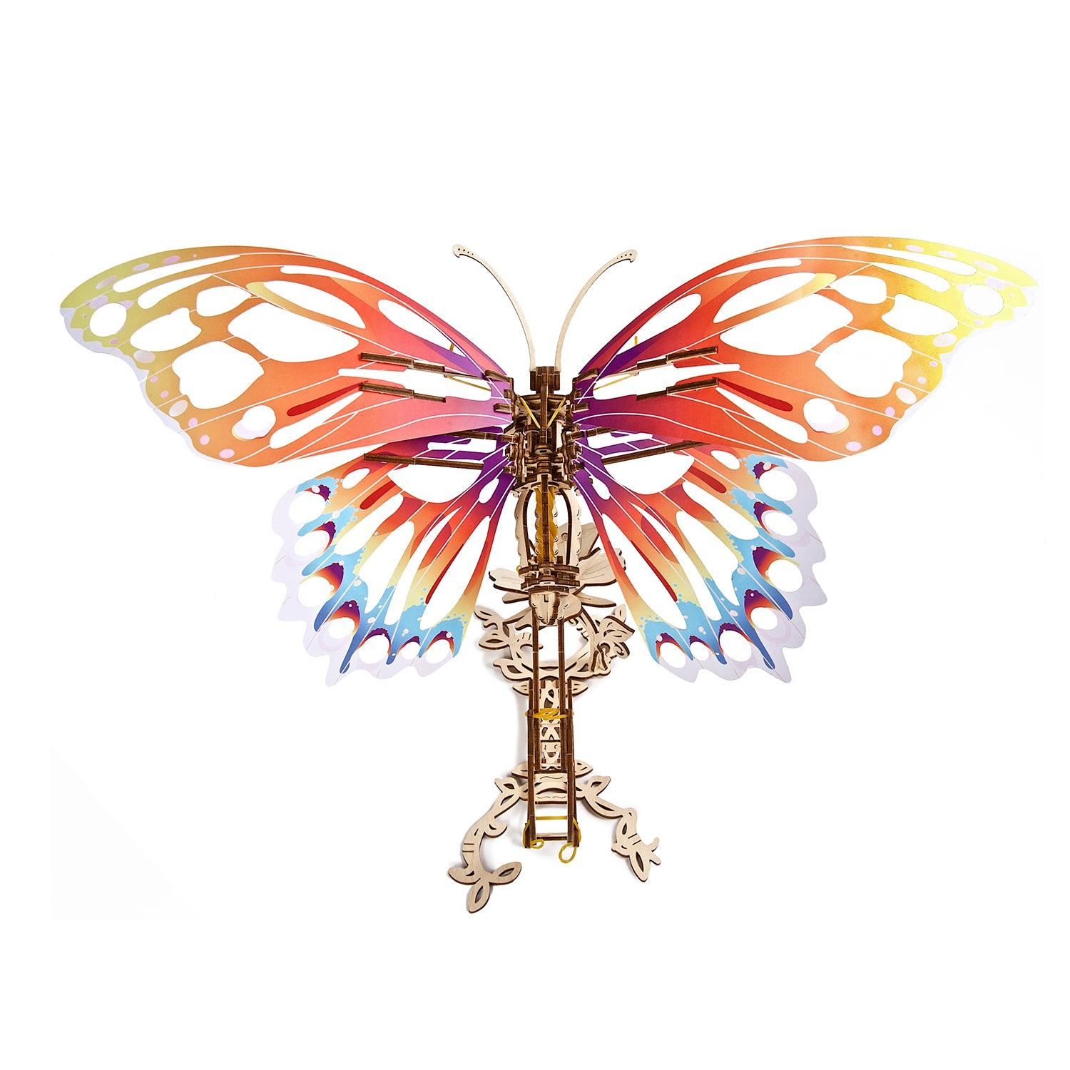 """Butterfly"" mechanical model kit"