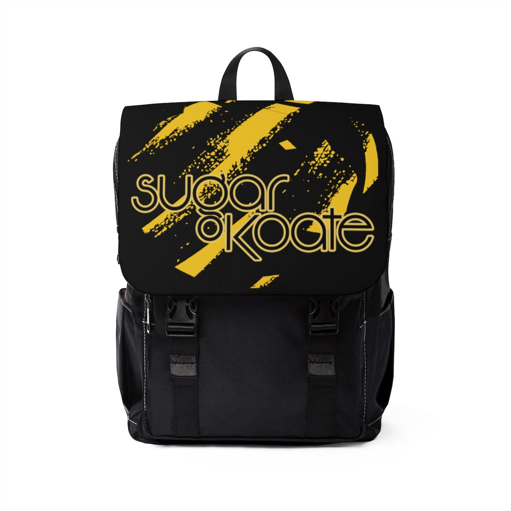 Sugar Koate Backpack Caution