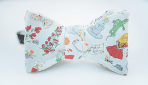 Alice In Wonderland Cotton Bow Tie Butterfly