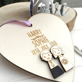 Wedding Day Heart - Just Toppers