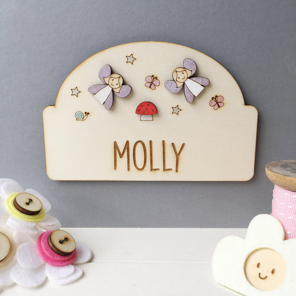 Fairy Door Plaque - Just Toppers