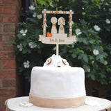 Autumn/Fall Wedding Cake Topper - Just Toppers