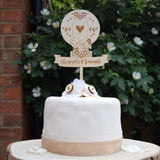 Hot Air Balloon Wedding Cake Decoration - Just Toppers