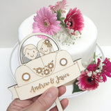 Car Wedding Cake Topper - Just Toppers