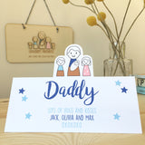 Daddy Card - Just Toppers