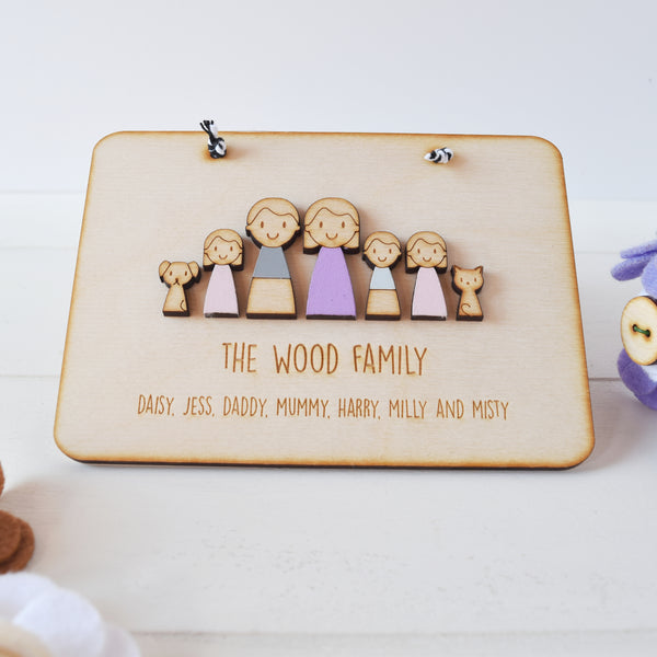 Family Sign - Just Toppers
