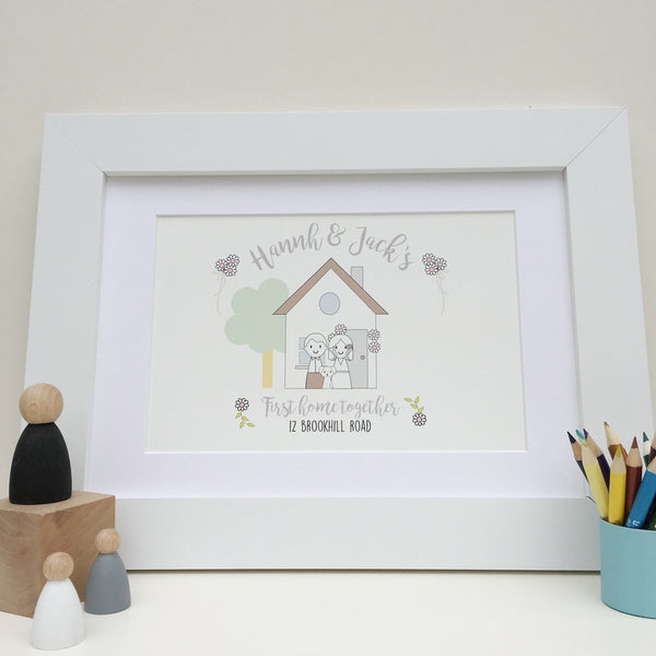 First Home Together Print - Just Toppers