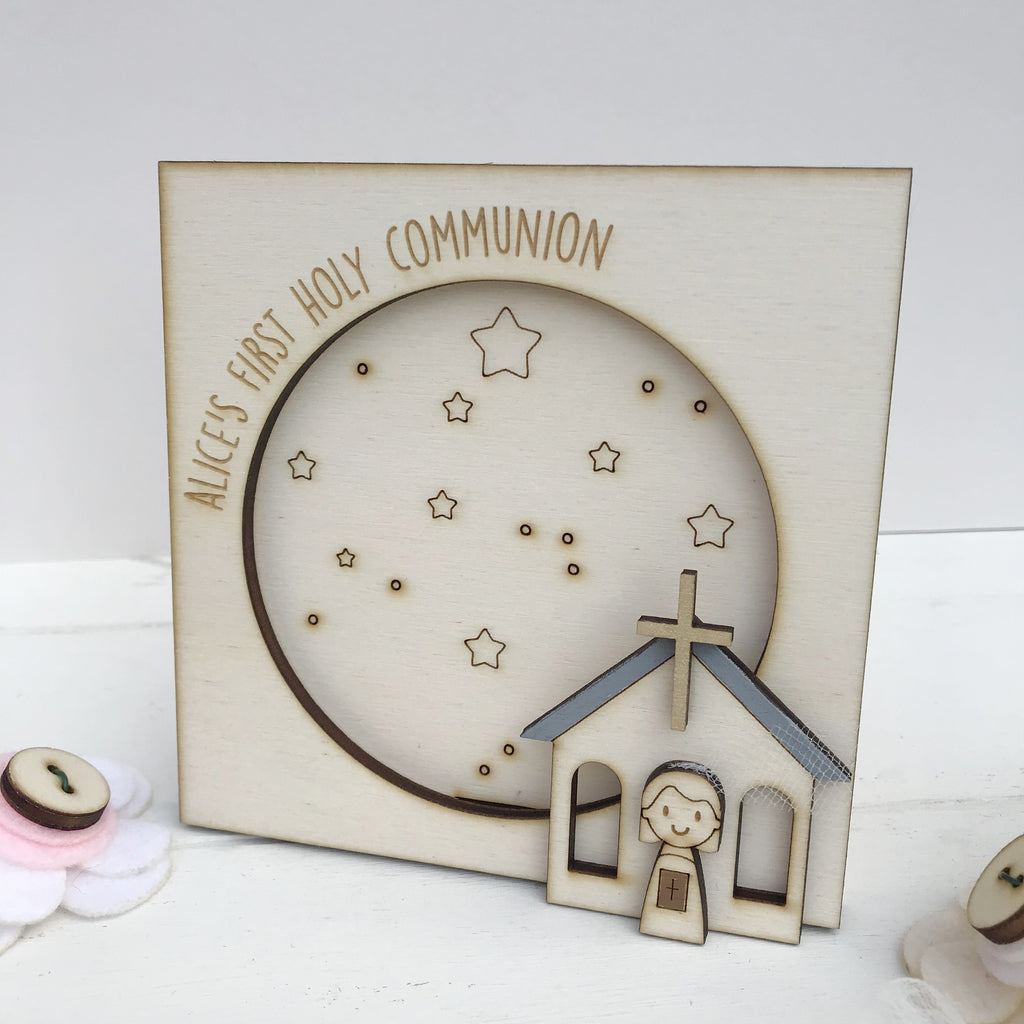 Personalised First Holy Communion Photo Frame - Just Toppers