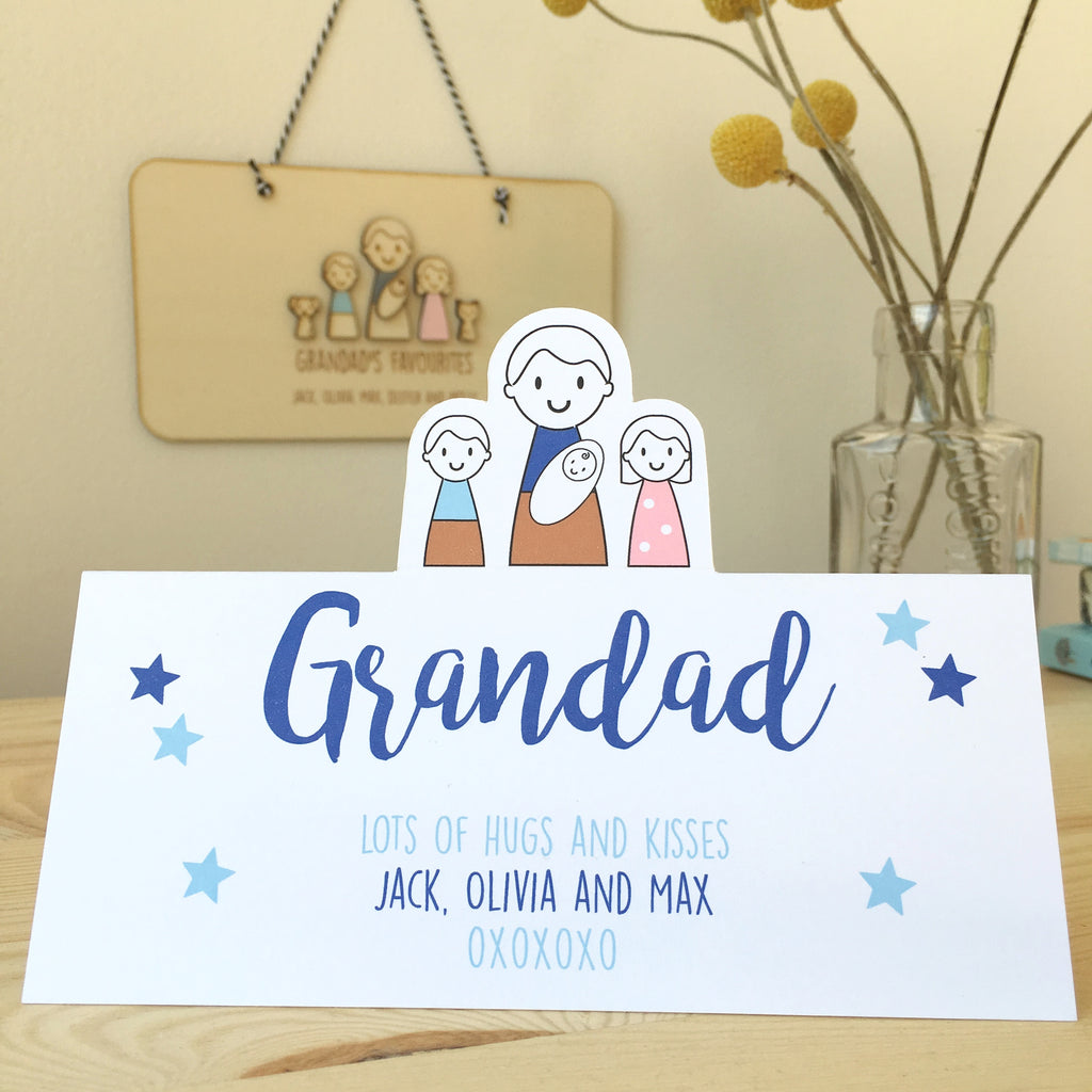 Grandad's Father's Day Card - Just Toppers