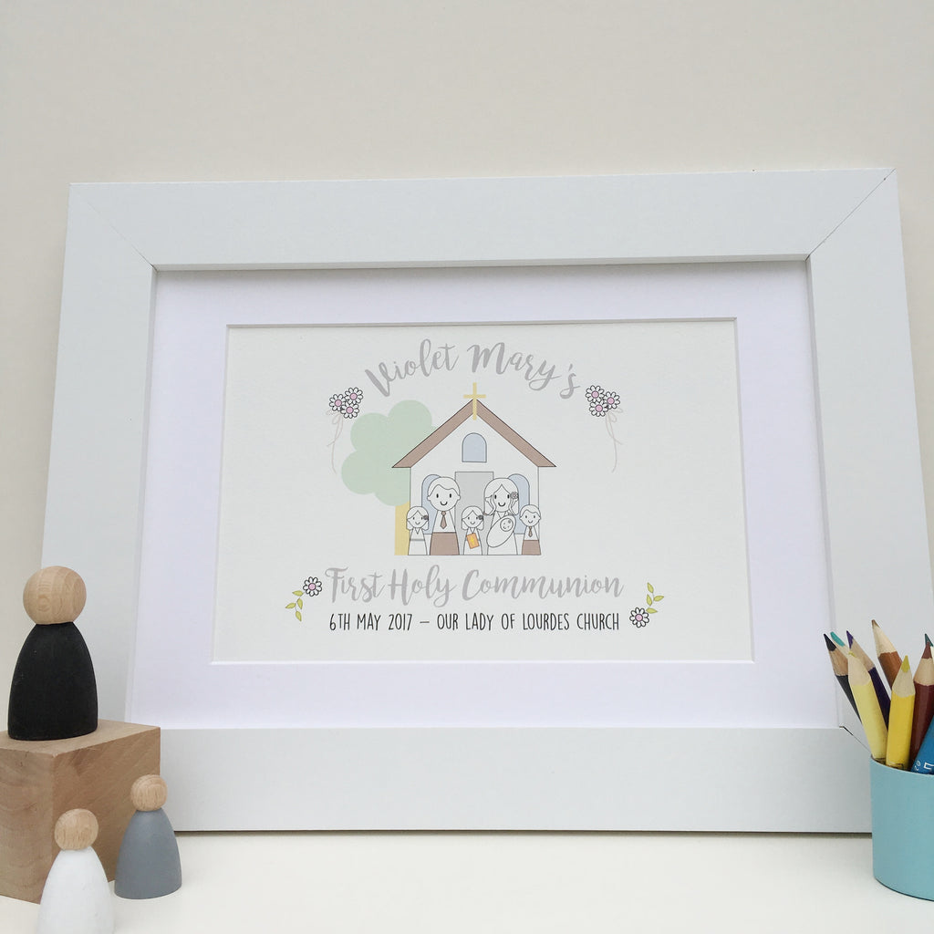 First Holy Communion Print - Just Toppers