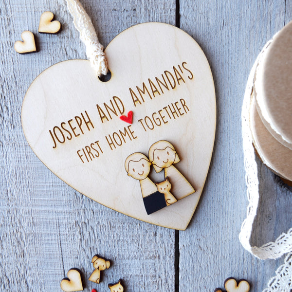 First Home Together Keepsake - Just Toppers