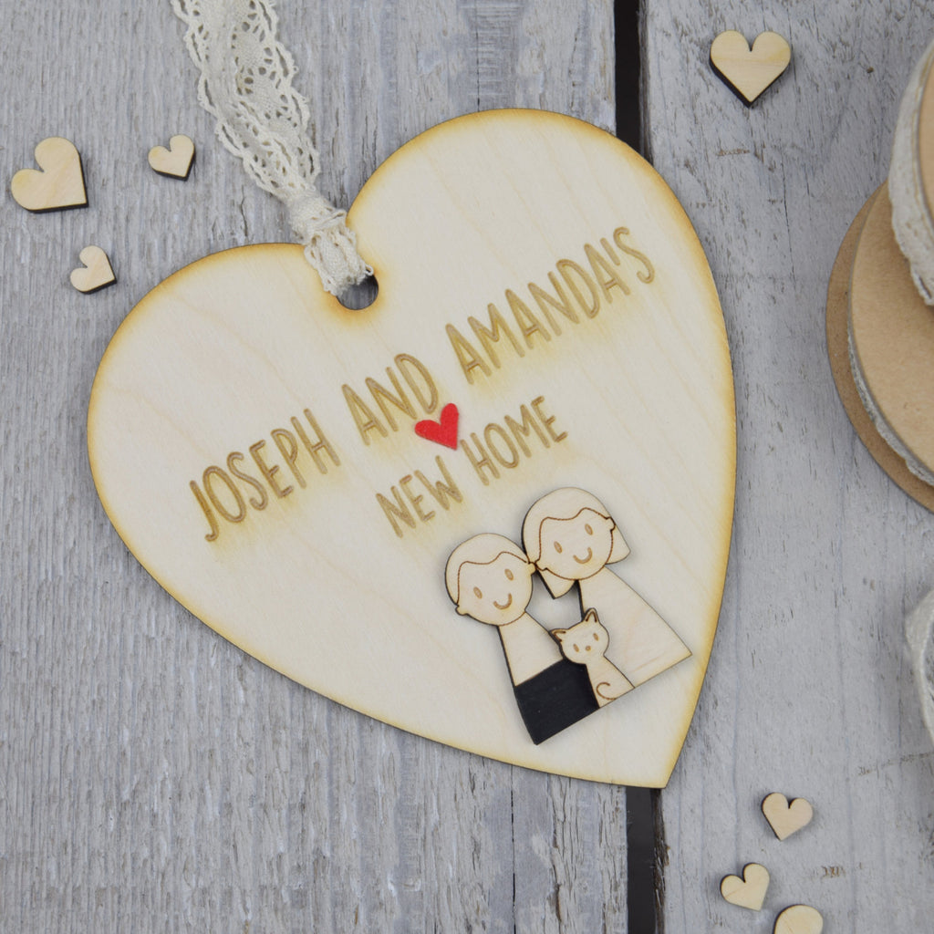 Couple's New Home Keepsake - Just Toppers