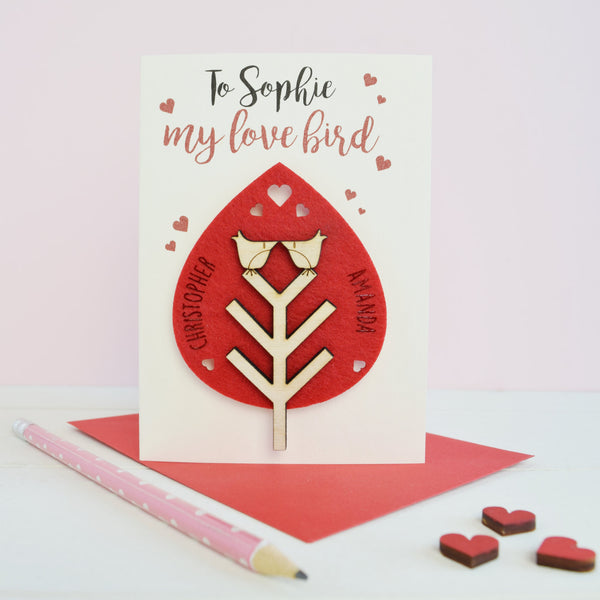 Valentine's Card and Keepsake - Just Toppers