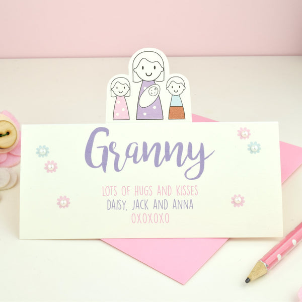 Granny's Mother's Day Card - Just Toppers