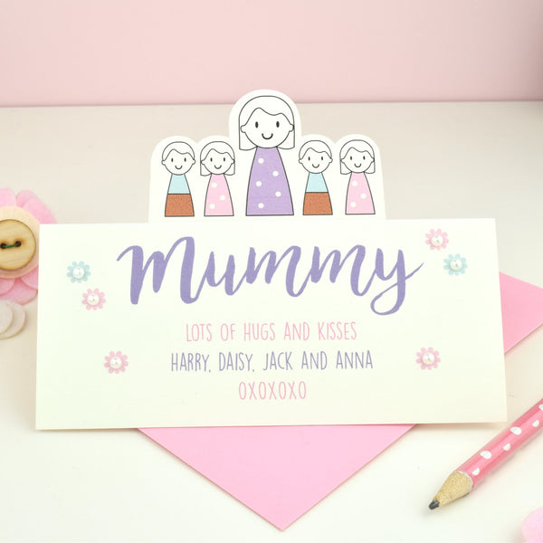 Mummy Card - Just Toppers