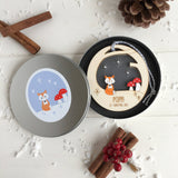 Christmas Woodland Bauble - Just Toppers