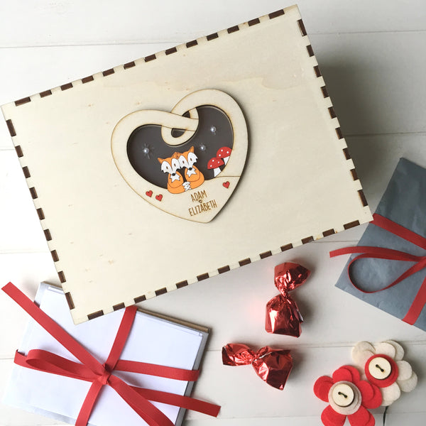 Valentine's or Wedding Keepsake Box - Just Toppers