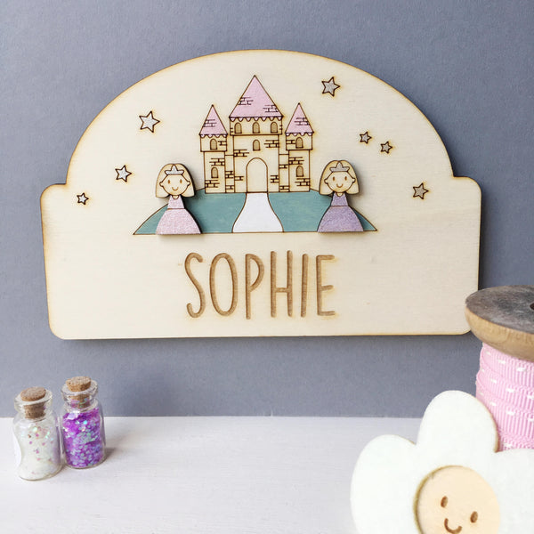 Princess Door Plaque - Just Toppers
