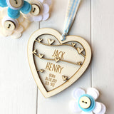 New Baby Boy Keepsake - Just Toppers