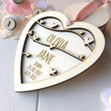 New Baby Girl Keepsake - Just Toppers