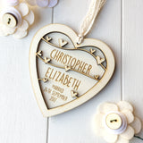 Wedding or Anniversary Keepsake Gift - Just Toppers