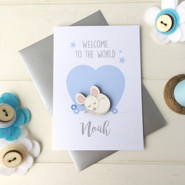 New Baby Boy Card - Just Toppers