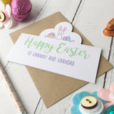 Easter Bunny Card - Just Toppers