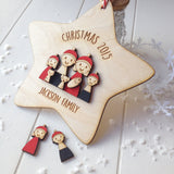Family Christmas Decoration - Just Toppers