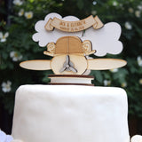 Plane Wedding Cake Topper - Just Toppers
