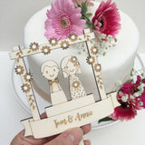Wedding Couple Cake Decoration - Just Toppers