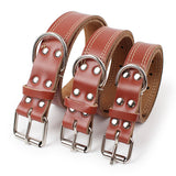 The Classy Hound Genuine Leather Collar