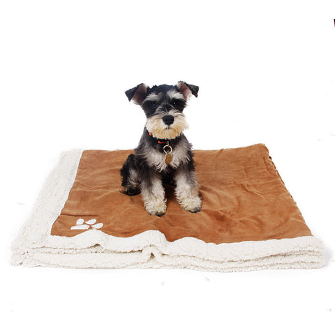 Large Super Soft Suede Fleece Blanket
