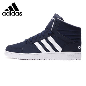 Original New Arrival Adidas NEO Label VS HOOPS MID Men's Skateboarding Shoes Sneakers