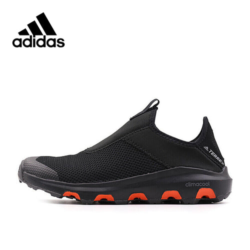 Intersport Official New Arrival 2017 Adidas TERREX CC VOYAGER SLIP ON Men's Aqua Shoes Outdoor Sports Sneakers