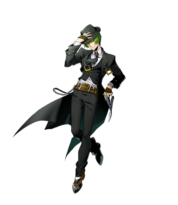 BlazBlue Cross Tag Battle Hazama Standee