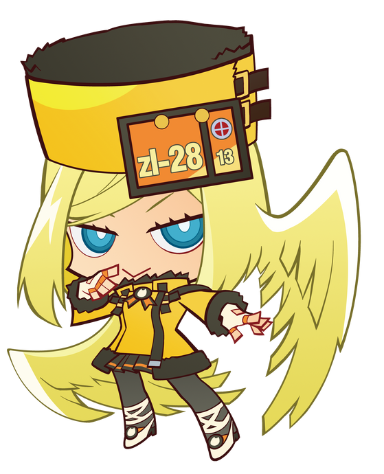 Guilty Gear Millia Keychain w/ Stand