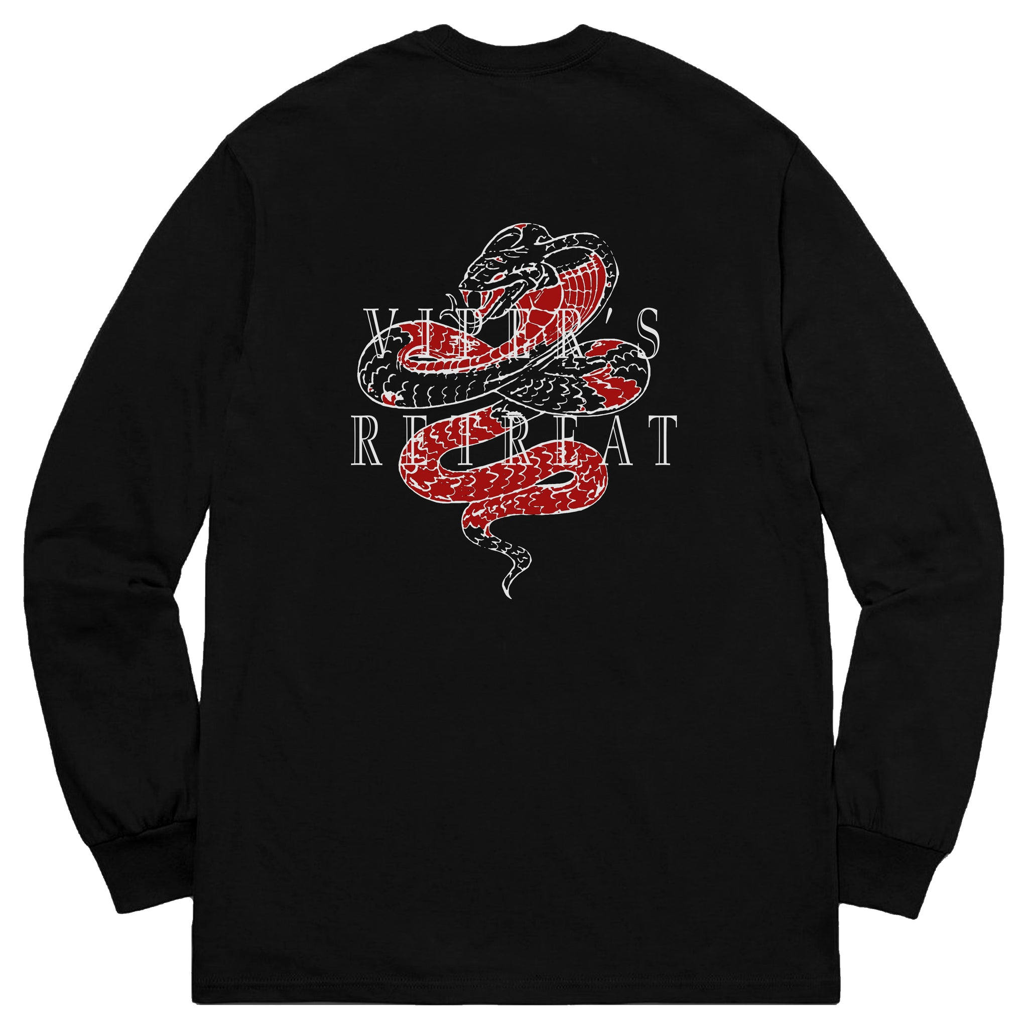 Viper's Retreat Long Sleeve - Black