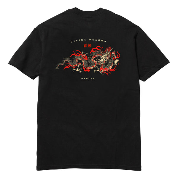 Divine Dragon Tee - Black
