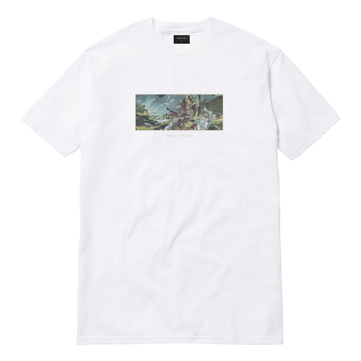 Dance of Arrows Tee - White