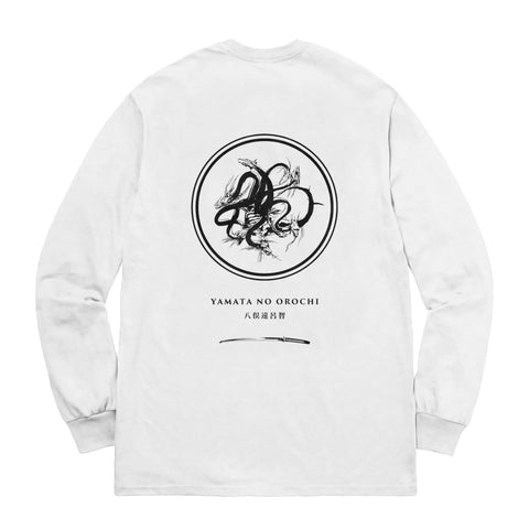 Eight Heads Long Sleeve - White