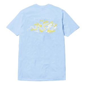 Divine Dragon Tee - Light Blue