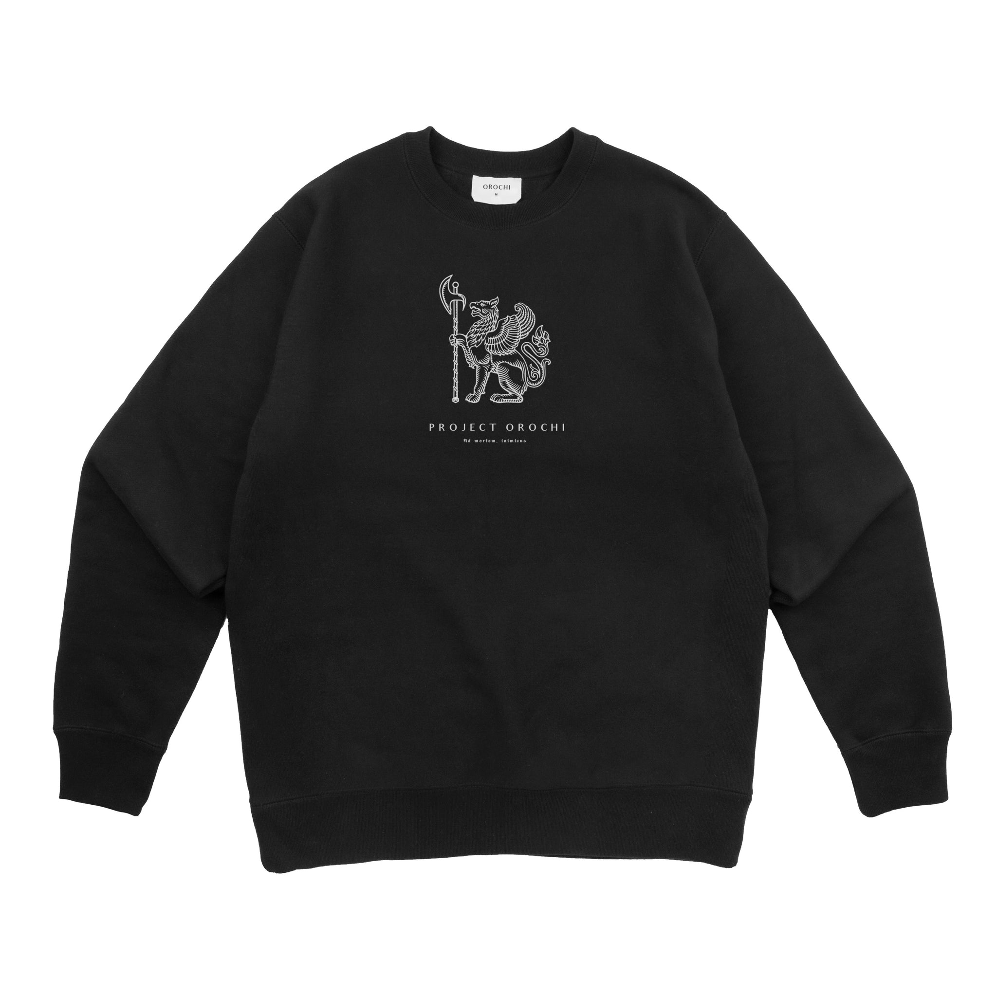 Law Crewneck - Black