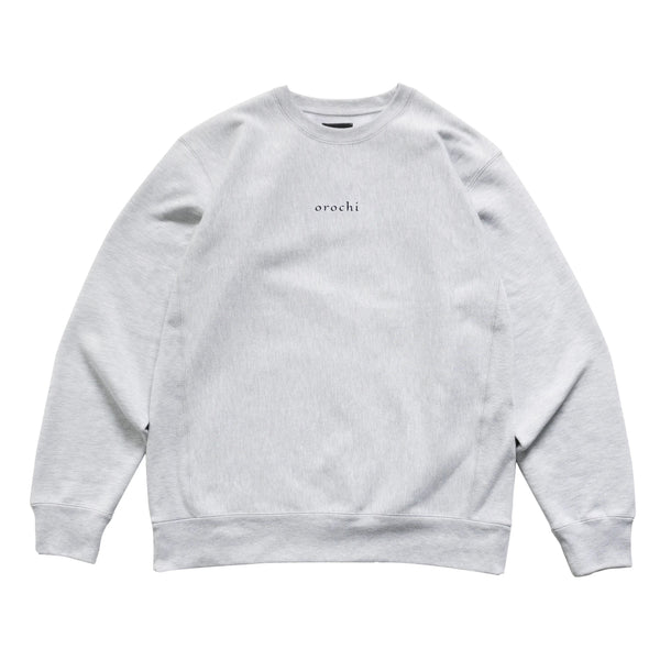 Maori Crewneck - Heather Grey